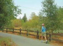 Trail links downtown Walnut Creek with regional Iron Horse Trail along restored creek and upland habitats